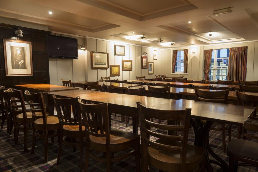 The Old Doctor Butler's Head Moorgate Function Room 2